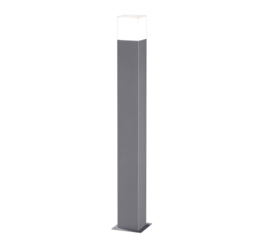 Trio Sokkel Hudson LED IP44 H 80CM | Titaan Overigen