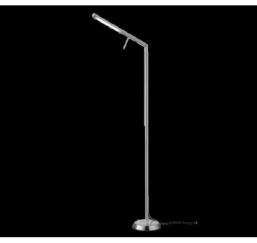 Trio Vloerlamp Filigran LED | Nikkel Mat Vloerlampen