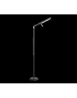 Trio Vloerlamp Filigran LED | Mat Zwart