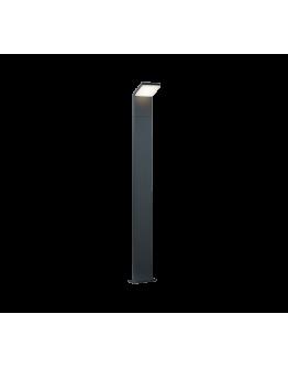 Trio Paal / Sokkel Pearl LED IP54 H 100CM   Antraciet
