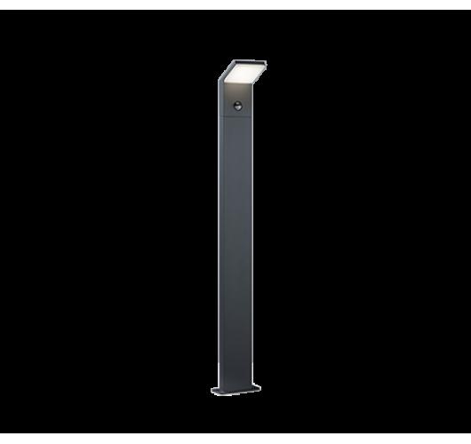Trio Paal / Sokkel Pearl LED IP54 Bewegingssensor H 100CM | Antraciet Overigen
