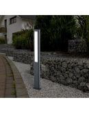 Trio Paal / Sokkel Rhine LED IP54 H 100CM | Antraciet Overigen
