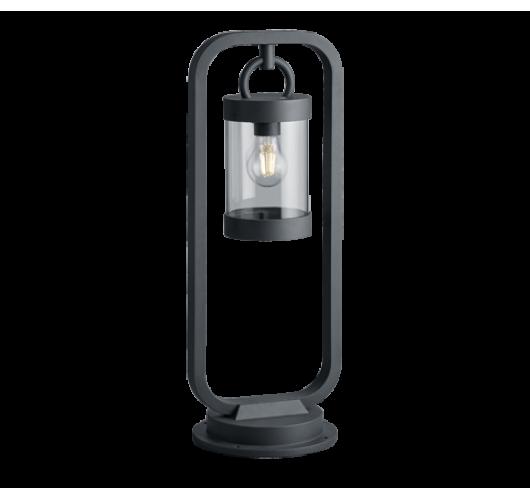 Trio Paal / Sokkel Sambesi Dag/Nacht Sensor IP44 H 60CM | Antraciet Wandlampen
