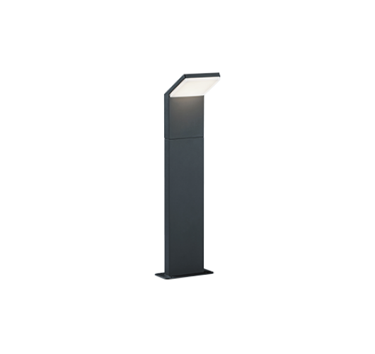 Trio Paal / Sokkel Pearl LED IP54 H 50CM | Antraciet Overigen