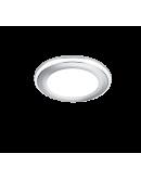 Trio Inbouwspot Aura LED Ø8cm | Chroom Spots