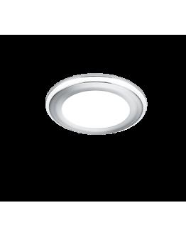Trio Inbouwspot Aura LED Ø8cm | Chroom