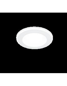 Trio Inbouwspot Aura LED Ø8cm | Wit