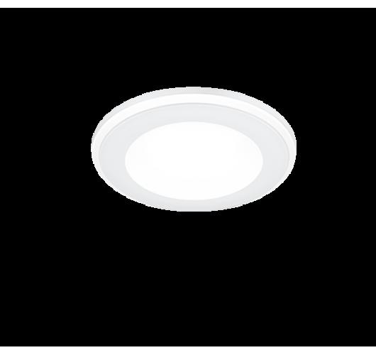 Trio Inbouwspot Aura LED Ø8cm | Wit Spots
