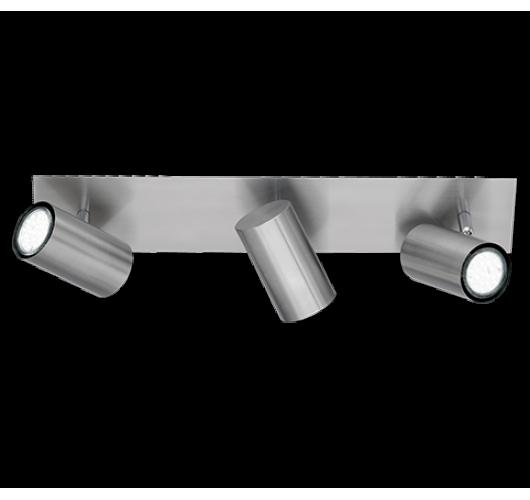 Trio Opbouwspot Marley 3 lichts| Nikkel Mat Spots