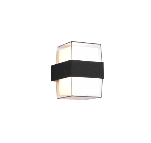 Trio Wandlamp Molina Vierkant LED IP54 | Antraciet Overigen