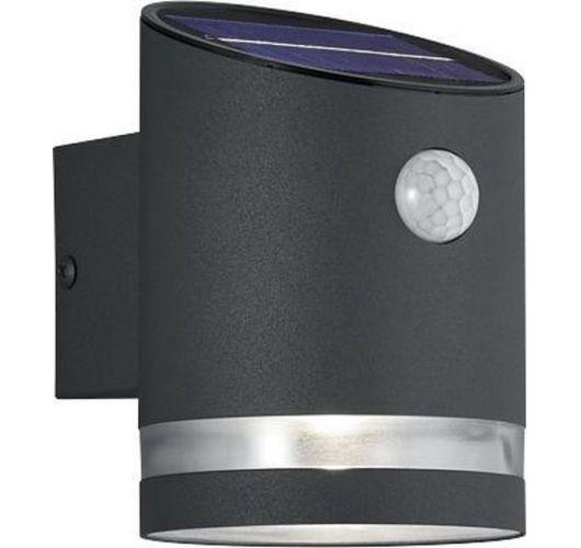 Trio Wandlamp Salta Antraciet Solar | Incl. Bewegingssensor  Wandlampen