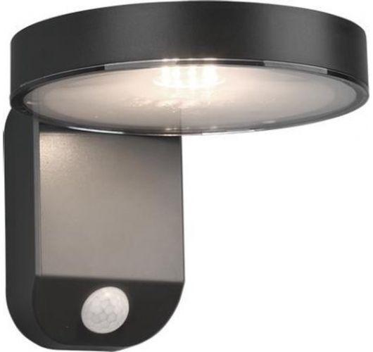 Trio Wandlamp Posadas Antraciet Solar | Incl. Bewegingssensor  Wandlampen