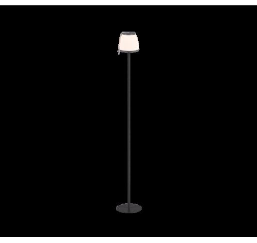 Trio Vloerlamp Domingo LED USB Oplaadbaar | Antraciet Tafellampen