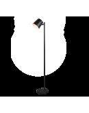 Trio Vloerlamp Blake oplaadbaar   Mat Zwart Vloerlampen