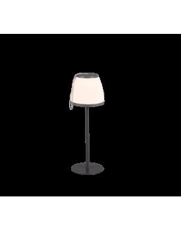 Trio Tafellamp Domingo LED USB Oplaadbaar | Antraciet