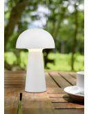 Reality Tafellamp Lennon Outdoor draadloos | Wit Overigen