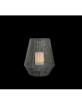 Trio Mineros Tafellamp 51cm Dag/Nacht sensor IP44 | Zwart
