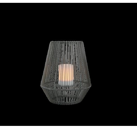 Trio Mineros Tafellamp 30cm Dag/Nacht sensor IP44 | Zwart  Tafellampen