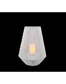 Trio Mineros Tafellamp 51cm Dag/Nacht sensor IP44 | WIT  Tafellampen