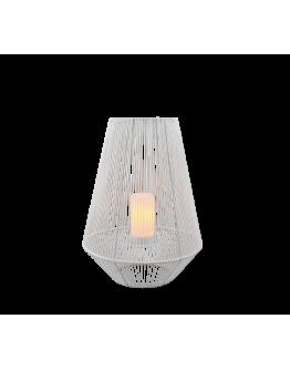 Trio Mineros Tafellamp 51cm Dag/Nacht sensor IP44 | WIT