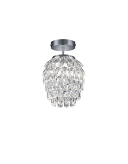 Reality Petty Hanglamp - Ø 20 cm, H 27 cm - Transparant