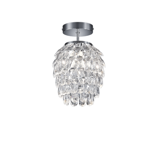 Reality Petty Hanglamp - Ø 20 cm, H 27 cm - Transparant Hanglampen