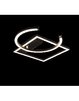 Trio plafondlamp Pivot Ø42cm | Mat Zwart