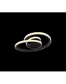 Trio plafondlamp Sansa Ø53cm | Zwart