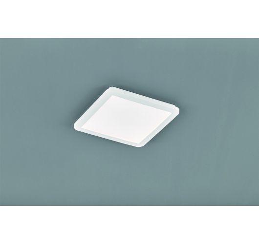 Reality Camillus Plafonnière | Wit | 30x30 cm | incl. SMD LED | Dimbaar | Geschikt voor de badkamer Plafonnière