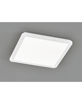 Reality Camillus Plafonnière | Wit | 40x40 cm | incl. SMD LED | Dimbaar | Geschikt voor de badkamer
