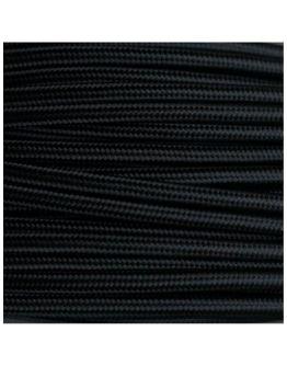 Strijkijzersnoer Zwart 2 x 0.75 mm | Per meter | Maak je eigen unieke lamp!