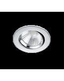 Trio Inbouwspot Pamir Rond LED IP23 | Chroom Spots
