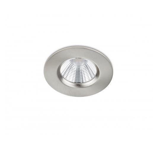 Trio International Badkamer Inbouwspot Zagros incl. LED 5.5W | 3000K | 345lm | Nikkel Mat Spots