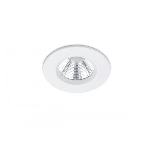 Trio Inbouwspot Zagros Rond LED IP65 | Wit Mat Spots