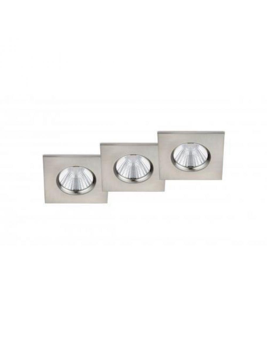 Zeer Trio International Badkamer Inbouwspots Zagros inclusief LED PI71