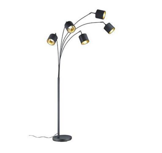 Reality Tommy Vloerlamp - E14 - Mat Zwart Vloerlampen