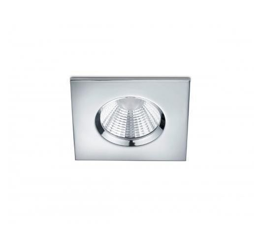 Trio International Badkamer inbouwspot Zagros incl. LED 5.5w | 3000K | 345lm | Chroom Spots