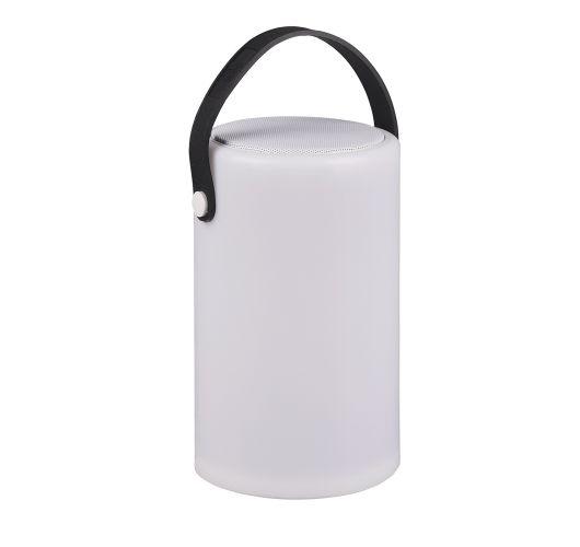 Trio Oplaadbare Tafellamp Bermuda - Bluetooth Speaker - Multi Color Tafellampen