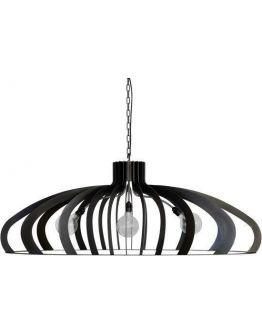 Catania Hanglamp - Zwart Gelakt Staal - Ztahl by Dijkos