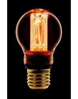 Led Kooldraad Kogellamp Goud 2.3W | E27 | Dimbaar